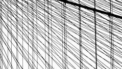 Web Structure (pjpink) Tags: nyc bridge summer blackandwhite bw newyork monochrome june brooklyn web structure cables brooklynbridge 2015 pjpink