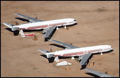 N18711 - Davis Monthan AMARC (DMA) 25.09.2009 (Jakob_DK) Tags: 2009 dma kdma davismonthan amarc amarg twa transworld transworldairlines boeing boeing707 707 b707 707300 707300b