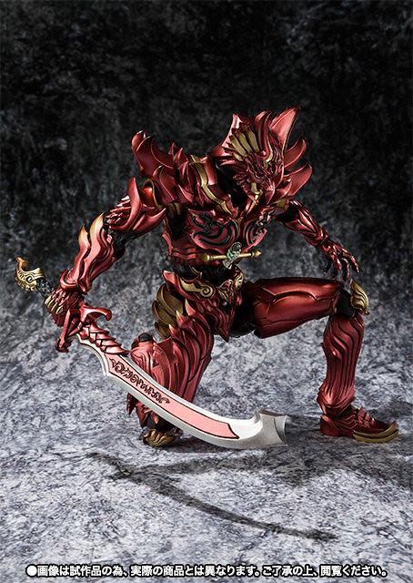 魔戒可動 炎刃騎士 ZEN