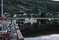 Harbour (early), Ullapool (1996) (Duncan+Gladys) Tags: uk scotland enhanced ullapool rossandcromarty