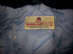 Rare Millets 1980s nylon snorkel parka's with pale blue lining (Clothes Mountain) Tags: uk blue winter england fetish snorkel coat retro jacket 1980s nylon parka lined millets flickrandroidapp:filter=none