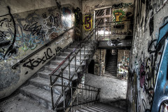 Stairways II (Michis Bilder) Tags: hdrabandonedplaces