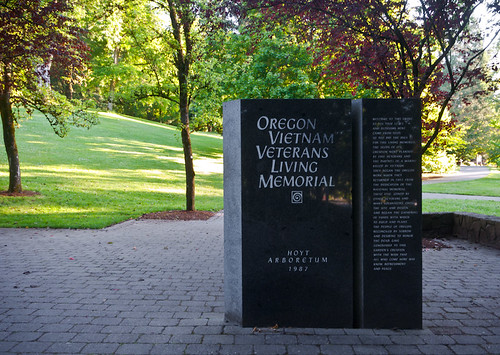 Oregon Vietnam Veterans Living Memorial 1 of 5
