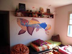 peixes (feikehara YANTRA) Tags: casa parede pintura peixes feikehara