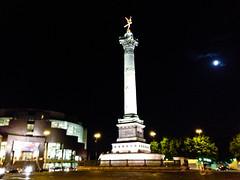 IMG_2823.jpg (kathryn mcdonnell) Tags: travel sky moon paris france monument events column iphone placedelabastille parisopera kathrynmcdonnell parisoperabastille julyrevolution1830monumentparis