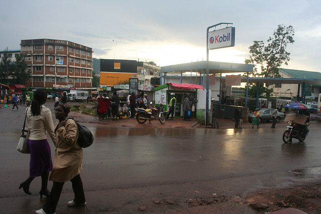 Late afternoon in Kisii