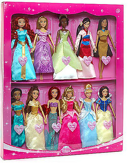 Disney Princess Deluxe Doll Gift Set 2013
