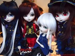 Sunday meeting (kyanko2003) Tags: twins doll midnight groove pullip custom vu deja isul
