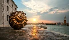 spirale a Venezia (invitojazz) Tags: sunset reflections spiral nikon tramonto riflessi spirale sangiorgio d90 invitojazz vitopaladini
