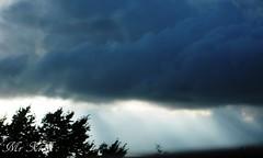 Light in The Darkness (諾諾諾諾...) Tags: uk canon scotland motorway darkclouds darksky raysoflight raysofjustice sunlightintheclouds