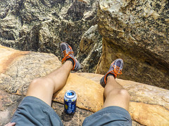 19 (4) (Mountain Trolls Photography) Tags: beer high dangerous nevada canyon corona redrock