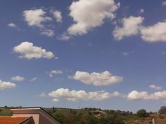 Cumulus Humilis e mediocris (fstraccialini) Tags: nuvole cumulusmediocris cumuli cumulushumilis
