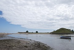 Alnmouth Clouds, Church Hil (Peter Cook UK) Tags: church clouds river hill estuary alnmouth nothumberland aln