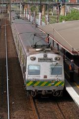 North Melbourne Show traffic (Dermis50) Tags: king martin railway melbourne victoria railwaystation sparks hitachi themet northmelbourne victorianrailways showspecial silverhitachi