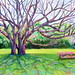 "The Party Tree - 24"" x 36"" - Oil - sold"