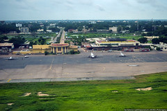 8:38 - Take off! (varlamov) Tags: africa above airport chad flight aerial aerophotography ndjamena