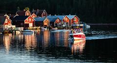 Norrfällsviken (Ulf Bodin) Tags: sea boat sweden sverige båt hav högakusten highcoast båthus sjöbod västernorrlandslän norrfällsviken canoneos5dmarkiii canonef70200mmf28lisiiusm