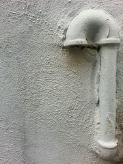 shape (moistenvironment) Tags: abstract texture wall grey beige stucco phoneography
