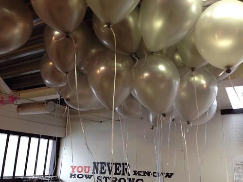 Heliumballonnen Ballonnenplafond Pinas Spijkenisse