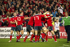 Try Celebrations (dfeehely) Tags: park cup heineken rugby gloucester munster thomond