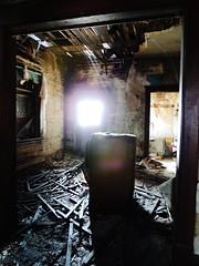 a stir of echoes....(Explored) (BillsExplorations) Tags: abandoned farmhouse rural vintage illinois rust ruins echoes decay farm destruction memories explore forgotten discarded hazardous abandonment ruraldecay shuttered oncewashome illinoisabandonment