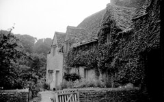 England 1938, Bibury Arlington Row 20-007 (rich701) Tags: england blackandwhite bw london castle church windmill thames 35mm vintage garden 1930s bradford compton 1938 rustic cottage negative stonehenge windsor winchester corfe bradfordonavon wisley avebury burton cirencester thatched silburyhill castlecombe lacock bibury elstead thursley shere witley thatchroof filmroll blewbury greywell tilford hagbourne uptongrey corfevillage wanborough hendred aldsworth arebury arelingtonrow staintcross