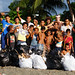 Group shot of the China Town AFL team after the clean up day at the field at the Lord Howe Settlement, Honiara.
