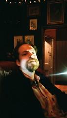 Lighting (uncoolbob) Tags: film pub october meet aps effrafc fujinexia200 nikonnuviss