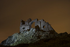 Mow Cop Castle, Staffordshire (Raven Photography by Jenna Goodwin) Tags: light castle night speed dark painting paint painted led torch cop mow stokeontrent lit staffordshire sot mowcopcastle flickrandroidapp:filter=none