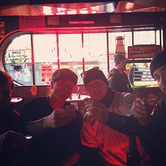 """Also crazy thankful for family... And jack's bar... And Jameson.. At 730 am.. Happy birthday big cuz!! @moveslikejaggah - #thanksgiving #thankful #jameson #family • <a style=""""font-size:0.8em;"""" href=""""https://www.flickr.com/photos/62467064@N06/11100330825/"""" target=""""_blank"""">View on Flickr</a>"""