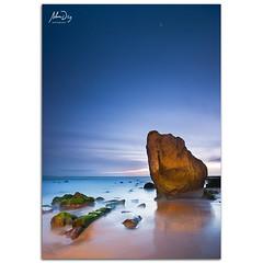 Warm light at blue hour (alonsodr) Tags: longexposure nightphotography seascape lightpainting night marina landscape noche nocturnal sony paisaje torch nocturna alpha cdiz alonso tarifa carlzeiss linterna largaexposicin alonsodr alpha99 a99 fotografanocturna alonsodaz cz1635mm