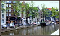 Shops & Houses (Renal Bhalakia) Tags: houses holland netherlands amsterdam europe worldheritagesite shops prinsengracht prinsengrachtcanal amsterdamcanal unescoworldheritagelist nikond600 renalbhalakia nikon28300mmvr