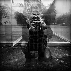Selfie 3 (gambajo) Tags: white abstract black reflection deutschland cologne köln orte selfie phonar phonarnation