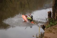 Parting the waters of the River Wye (Kirkleyjohn) Tags: river kayak symondsyat riverwye
