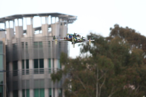 Quadcopter and CSE Building