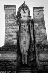 111213s (photo & life) Tags: blackandwhite paris thailand temple noiretblanc wat sukhothaï flickraward fujifilmxpro1