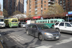 IMG_4953 (GojiMet86) Tags: mta nyc new york city bus buses 1956 1958 tdh5106 3100 9098 m42 42nd street 9th avenue