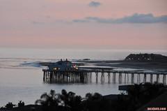 WhatAStrangelyShortDay (mcshots) Tags: ocean california travel winter sea sky usa beach water clouds coast pier stock malibu solstice socal mcshots swells losangelescounty 122113