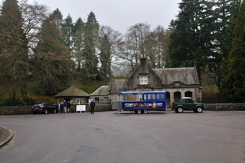 Entrance to Balmoral Castle