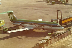 EI-ANG BAC 1-11 Aer Lingus (eigjb) Tags: ireland dublin digital plane airplane airport image aircraft aviation scan corporation pre british 111 aer 1980 spotting bac oneeleven lingus stdeclan collinstown eidw eiang 208al