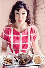 Clean Sweets (Georgina Longoria) Tags: pink food retro behind scenes foodphotography foodstyling
