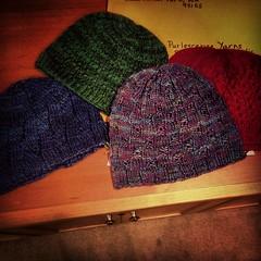 Halos Hats, Ready to Send (jchants) Tags: hats readytosend halosofhope hatsforcancerpatients naylorstreethat halosofhopedonations 2gerrihats oceaniehat