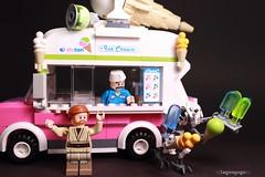 General grievous strikes yet again. (Legoagogo) Tags: starwars icecream chichester generalgrievous obionekenobi legoagogo