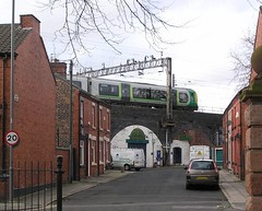 Bisley Street, Liverpool 15 (Towner Images) Tags: houses urban copyright architecture liverpool birmingham community arch terrace rail railway arches newstreet culdesac merseyside towner londonmidland bisleystreet townerimages merseysidecivicsociety