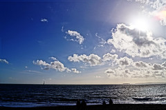 (aimz_durrant) Tags: sea sky beach clouds photography sony haylingisland skyscapes cloudscapes a65 sonya65