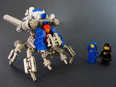 "Classic Spacekoma ""CS2"" (Devid VII) Tags: classic tank lego space think cs mecha mech 2014 tachikoma devid foitsop marchikoma devidvii"