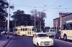 Once upon a time - The Hague - De Wittebrug (railasia) Tags: bridge holland bus infra thehague sixties pcc htm routenº9