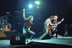 MSG25-9-80j (1978-1987) Tags: ufo hammersmith msg concertphotography hammersmithodeon paulraymond michaelschenker garybarden