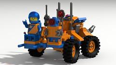 1621 MPV Re-coloured (David Roberts 01341) Tags: lego rover mpv 1621 futuron