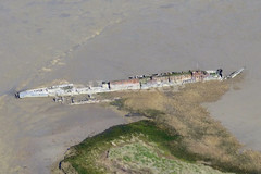 UB-122 In the River Medway, Kent. (piktaker) Tags: kent submarine uboat ww1 medway rivermedway germannavy kingsnorthpowerstation typeubiii ub122 coastalpatrolsubmarine humblebeecreek